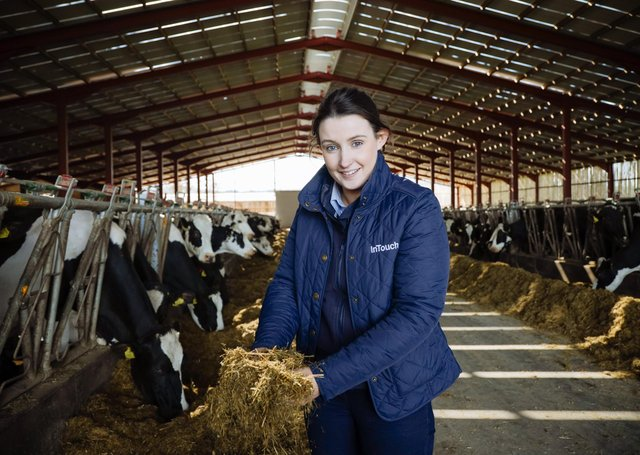 Aislínn Campbell, InTouch Feeding Specialist, Alltech Northern Ireland