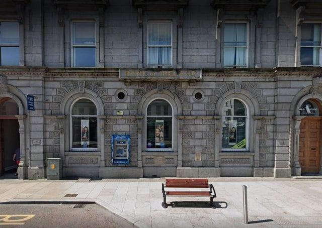 Bank of Ireland, Portadown. Photo courtesy of Google.