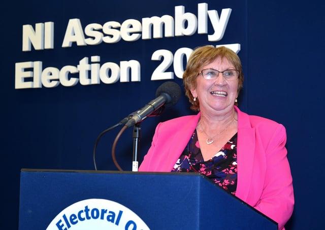Dolores Kelly(SDLP)  Tony Hendron / Press Eye.