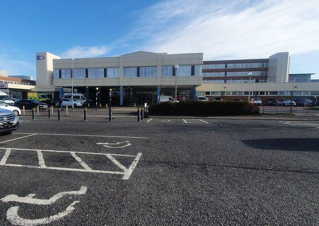 Craigavon Hospital.