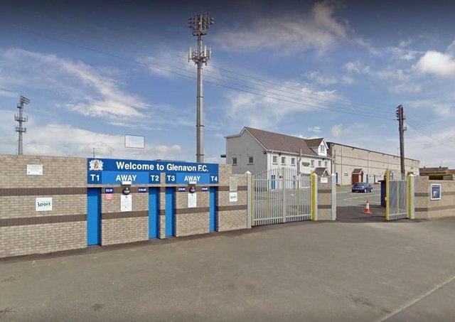 Mourneview Stadium in Lurgan. Photo courtesy of Google.