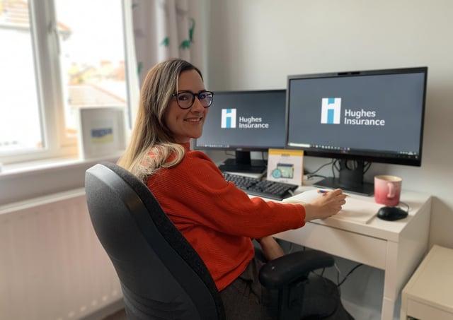 Sarah Balmforth, Hughes Insurance.