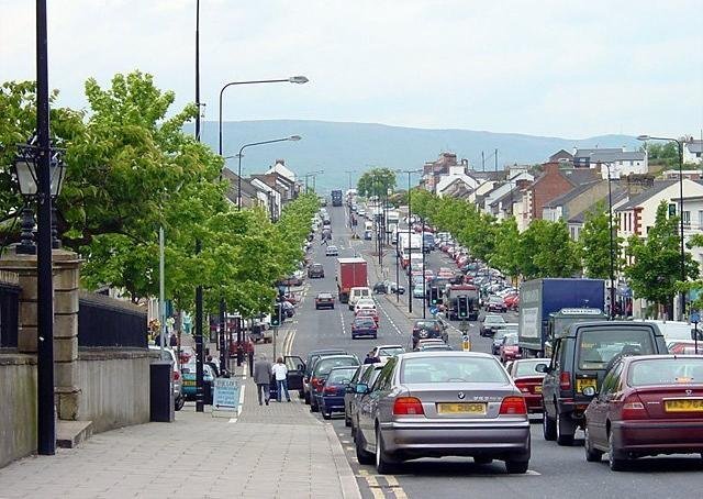 Cookstown looking north. Picture: Linda Bailey/Geograph.ie