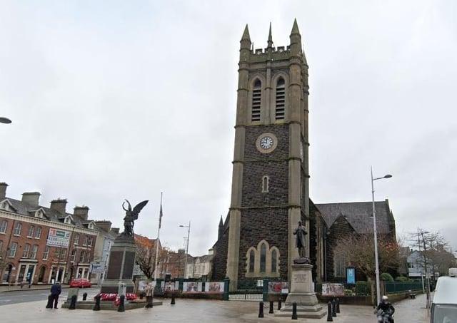 St Mark's Church in Portadown. Photo courtesy of Google.