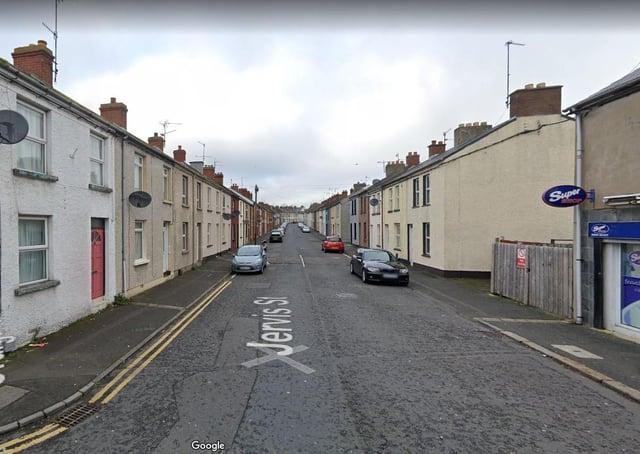 Jervis St, Portadown. Photo courtesy of Google.