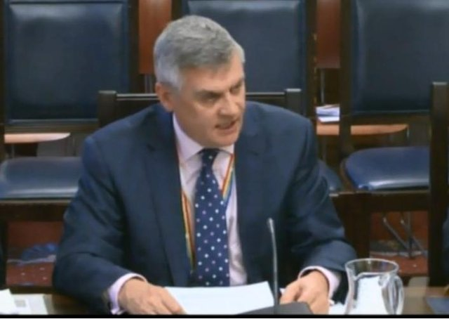 """Speaking at the committee meeting Brian Doherty said: """"As a department we have a key role to play that we work collaboratively with other civil service colleagues, industry and stakeholders to maintain the flow of food and food related products."""""""