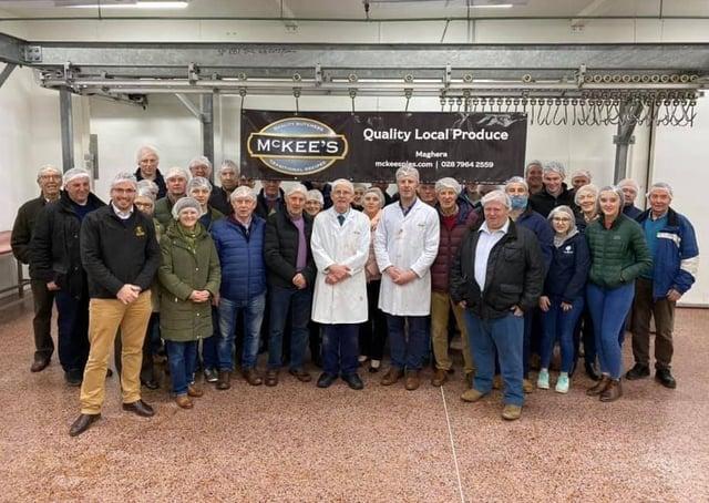 South-Londonderry UFU Group Members at McKees Butchers visit