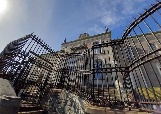 Downpatrick Courthouse. Picture: Darryl Armitage