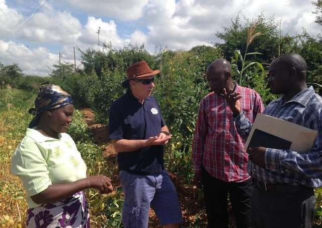 Dennis Lin visited the Christian Aid Project in Kenya in May 2015.