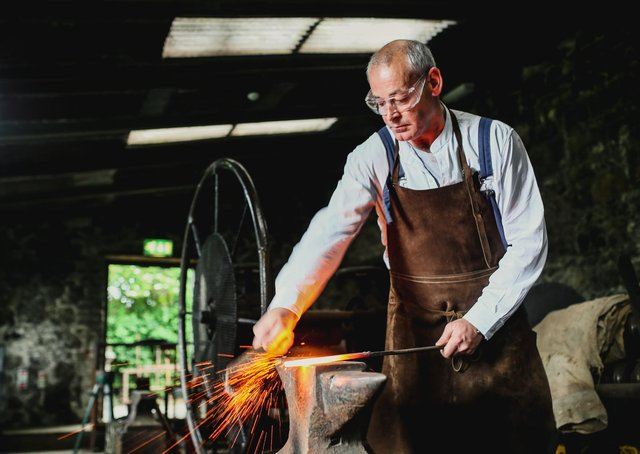 Pattersons Spademill need a Forge & Metalworker Volunteer. Picture: National Trust Images