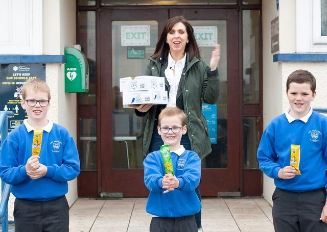 A special Dale Farm delivery at St Paul's, Newry