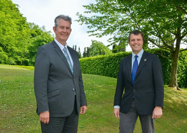 Environment Minister Edwin Poots has recently met with the UK High-Level Climate Action Champion for COP26, Nigel Topping, during a three-day visit to Northern Ireland
