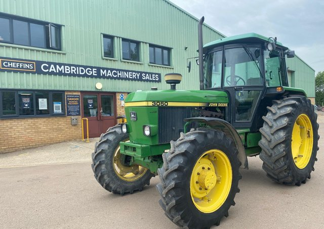 The John Deere 3050 which will be auctioned off next week