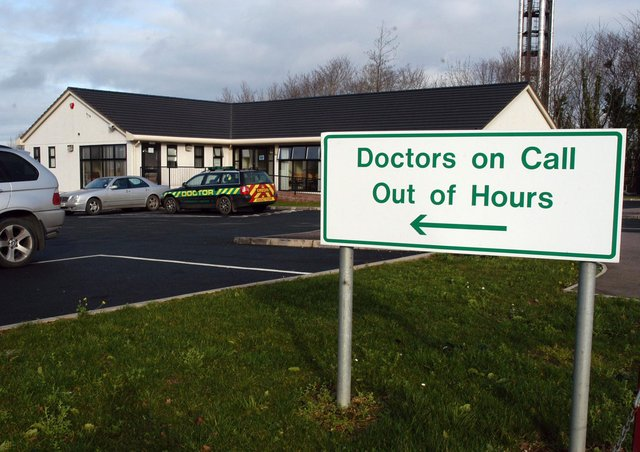 The Doctors Out of Hours premises at Craigavon Area Hospital. LM4909-139gc
