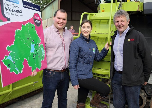 Richard Primrose Bank of Ireland Agri Business Manager at the 2017 Bank of Ireland Open Farm Weekend