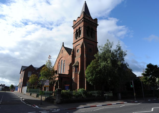 Parish of St Simon, Church Of Ireland, on the Donegall Road in Belfast.