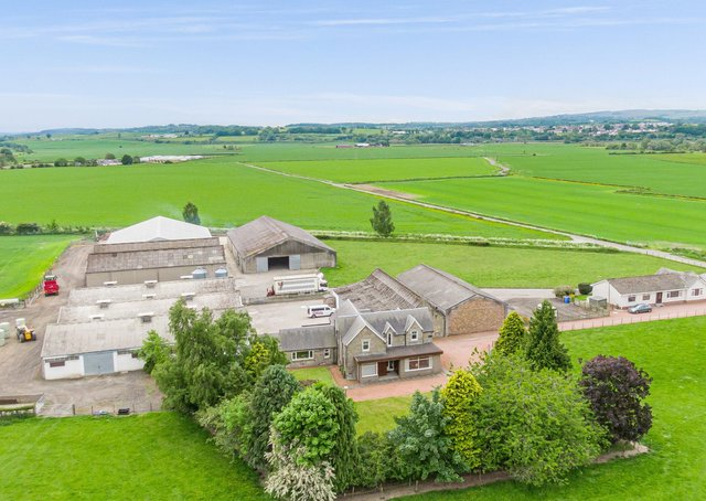 Dykes Farm is a productive mixed farm extending to about 141.55 ha (349.77 acres) situated in a scenic yet accessible location near Stirling