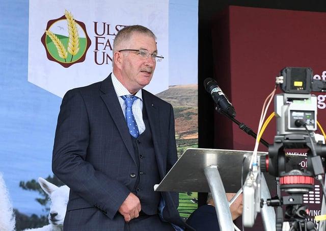 UFU president Victor Chestnutt