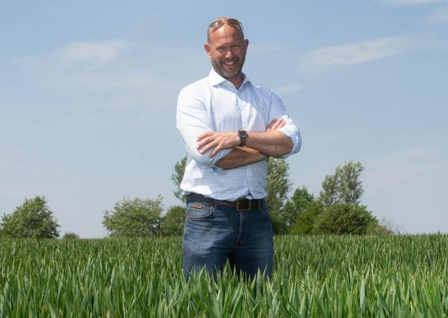 Jake Freestone, 2020 Soil Farmer of the Year and Farm Manager of Overbury Enterprises, will be trialling Sandy