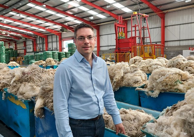 Andrew Hogley, Ulster Wool Chief Executive Office