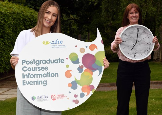 """Holly Elkin (Cookstown) has just submitted her Business for Agri-food and Rural Enterprise Master's project. Holly says """"I would recommend that Honours Degree graduates hop online and view the live Postgraduate Courses Information Evening on Tuesday 29th June. I completed the course part-time, whilst working in a food business. I really enjoyed the course which offered great opportunities to share experiences and network with other students."""" Join Teresa McCarney, Programme Manager live on Discover CAFRE at 7pm to hear more."""