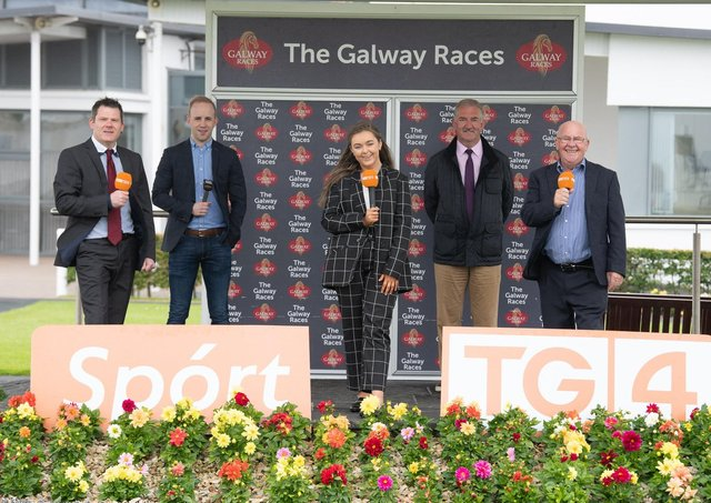 24/06/2021   TG4 Coverage of the Galway Races. Photo:Andrew Downes, Xposure.