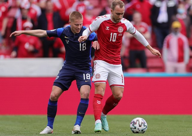 There were many memorable moments in Euro 2020 but one standout moment for Robin was the incident involving the Denmark midfielder Christian Eriksen