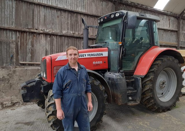 Andrew McClelland from Cookstown pictured on his work farm recently completed the Agricultural Business Operations (Level 2) in Dairying course with CAFRE and would encourage anyone interested in the Level 2 course to make sure that they do not miss the 31July closing date for applications.