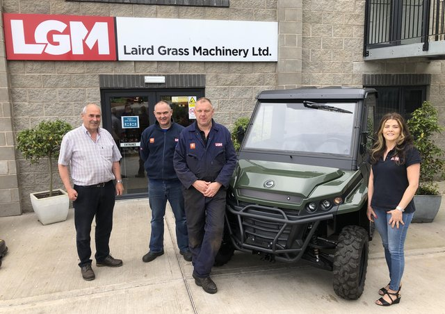 BOSS ORV has appointed two new dealers for the Corvus Terrain 4x4 utility vehicles, Laird Grass Machinery in Northern Ireland and Brassington Agri in Shropshire.
