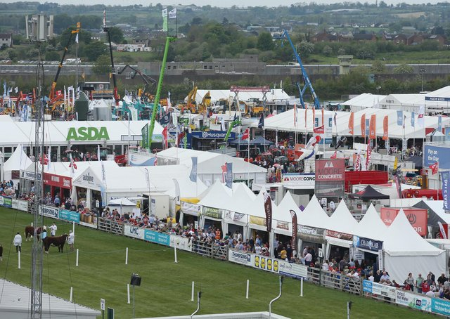 PressEye-Northern Ireland- 15th May  2019-Picture by Brian Little/PressEyeGeneral views. of  Balmoral Park during the first day of the Balmoral Show 2019Picture by Brian Little/PressEye