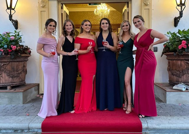 Member from Lisnamurrican YFC who celebrated their club's 80th anniversary at the Galgorm Golf Resort and Spa on 11th September 2021
